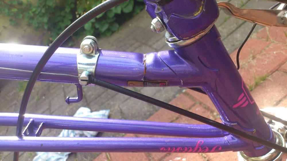 Alu-Rahmen am Fahrrad schweißen? (Reparatur)