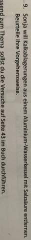Aluminium entkalken?