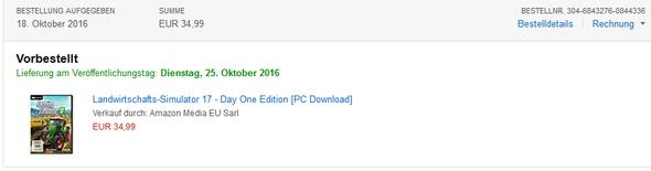 Amazon Bestellung Nicht Bestellt