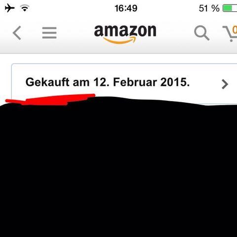 """""""Gekauft"""" - (online, Amazon, Bestellung)"""
