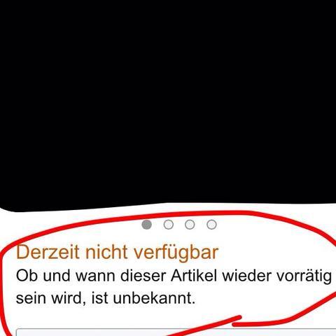 """""""Derzeit nicht verfügbar"""" - (online, Amazon, Bestellung)"""