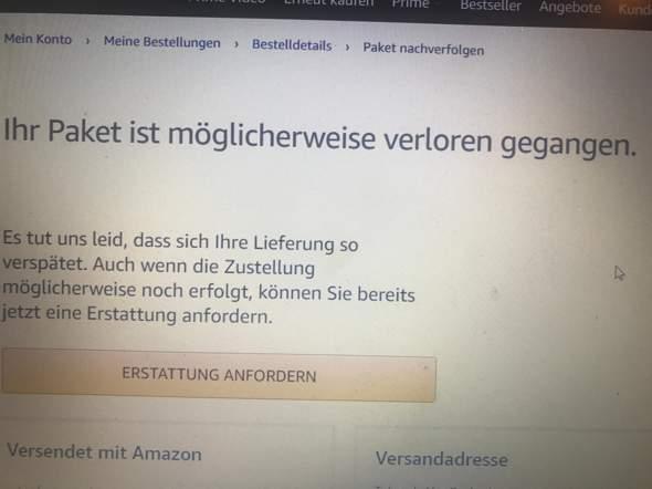 Amazon Erstattung was machen?