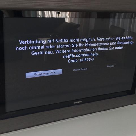 Fehlermeldung - (Internet, Netzwerk, Router)