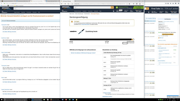 Amazon - (Menschen, online, Amazon)