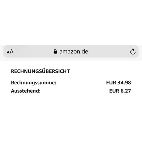 Amazon Monatsabrechnung wieder aktivieren?