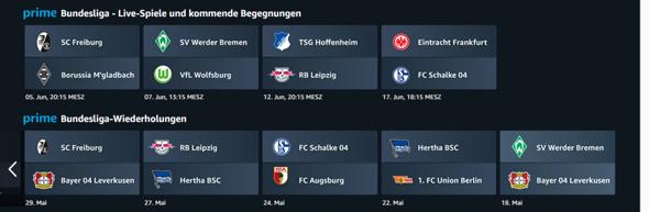 Amazon Prime Bundesliga 2021