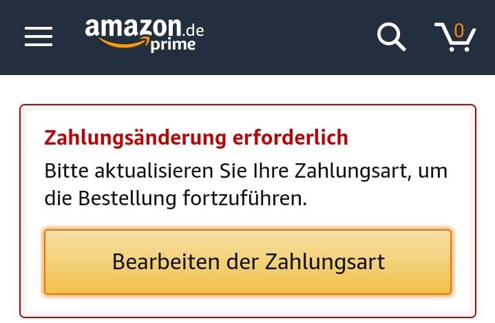 amazon sperrt versehentlich konto