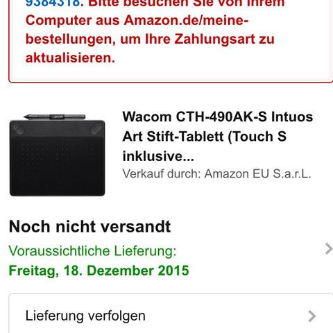 Amazon Bestellung Zahlung Abgelehnt