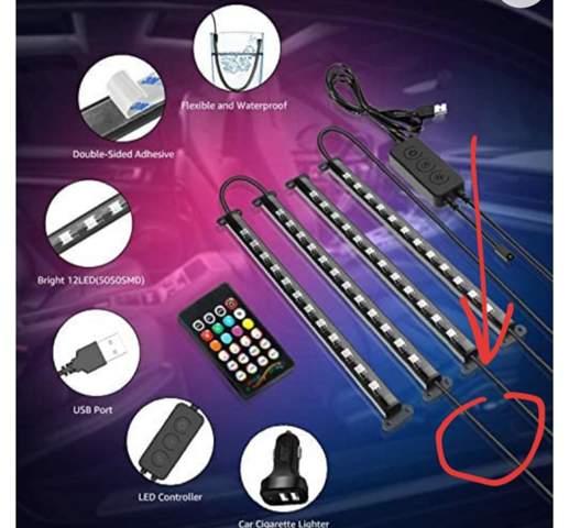 Ambientenbeleuchtung Auto, Kabel geknickt, kurzschluss Möglich?