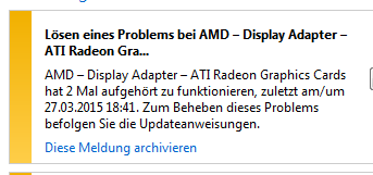 Fehlermeldung - (Computer, AMD, Radeon R9)
