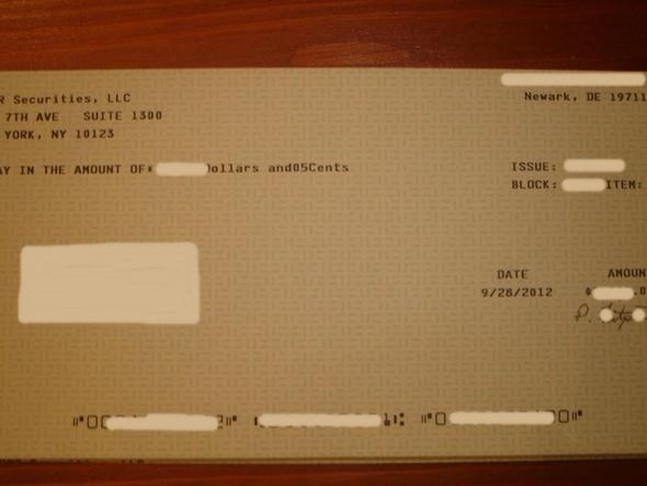 Bild 2 zu meinem Thema Scheck - (Finanzen, Bank, Scheck)