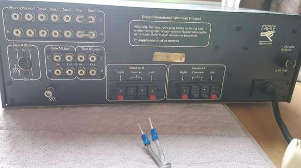 Amp mit boxen und pc verbinden aber wie?