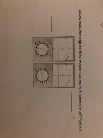 Amperemeter richtig ablesen?