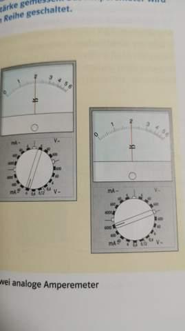 Ampermeter abmessen?