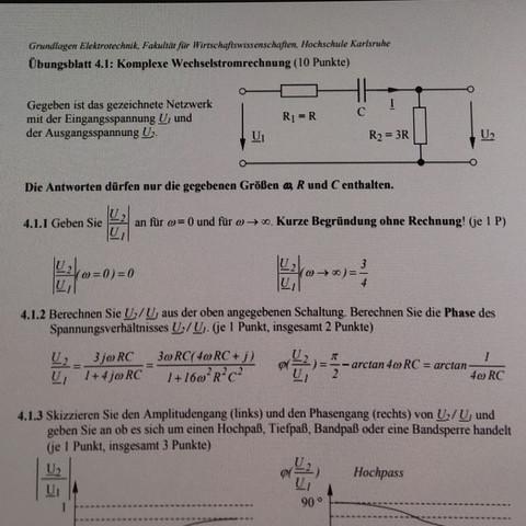 Aufgabenstellung - (Schule, Wirtschaft und Finanzen, Elektrotechnik)