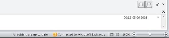 Outlook Client-Exchange - (Outlook, Exchange)