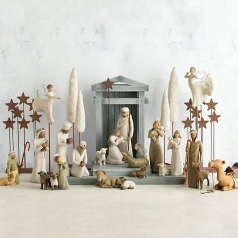 An alle, die Weihnachten gefeiert haben: Habt ihr eine Krippe aufgestellt?
