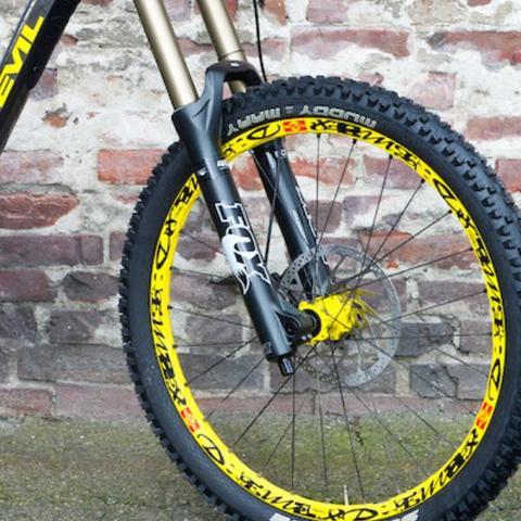 An alle Downhiller, wie heisen die Felgen dieses Bikes, und kann man sie extra kaufen?