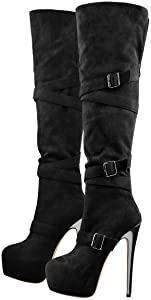 An alle Frauen kann mann bzw ein transgender diese stiefel in der Öffentlichkeit tragen trage sie gerne und sind sehr bequem?