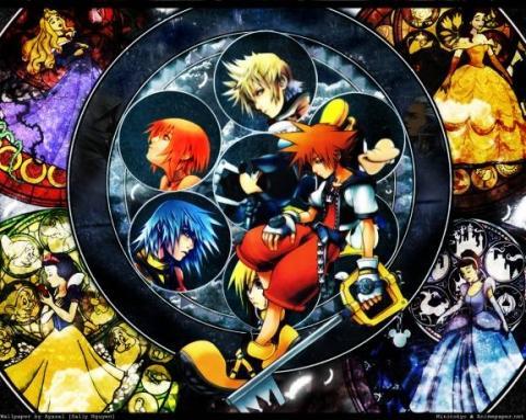 Kingdom Hearts - (Games, Anime, Level)