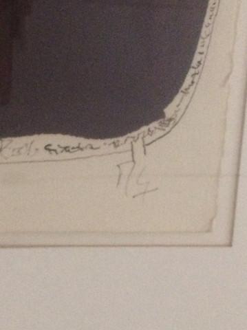 Umrandung/ Signatur - (Kunst, zeichnen, Künstler)