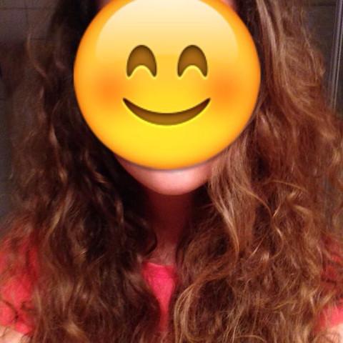 Das wären dann meine Haare. - (Mittel, naturlocken)