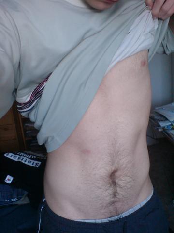 Bauch haare rasieren mann am Sollte man