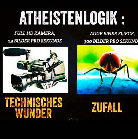 Atheist aus einem christen