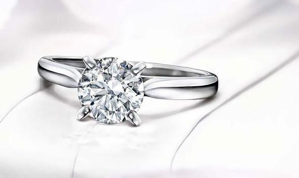 Einfacher Verlobungsring - (Ring, Verlobung, Cartier)