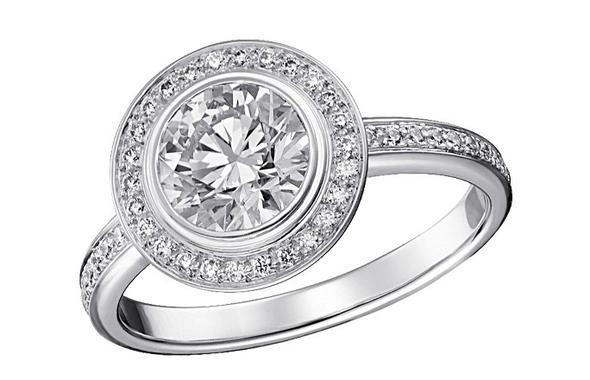 Cartier d'Amour ausgefasst - (Ring, Verlobung, Cartier)