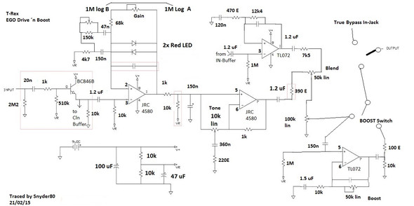 An die Elektroniker: Hat dieses Gerät (Overdrive Pedal für Gitarre ...