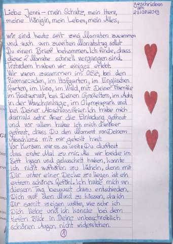 Liebesbrief an meinen freund fernbeziehung