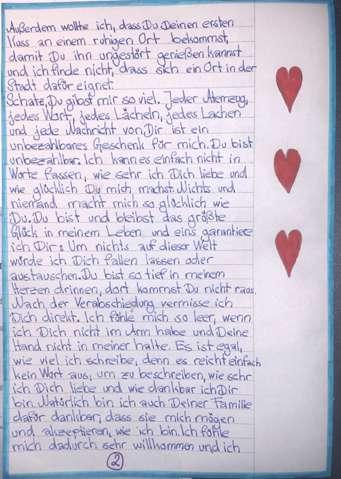 Schöne liebesbriefe an ihn