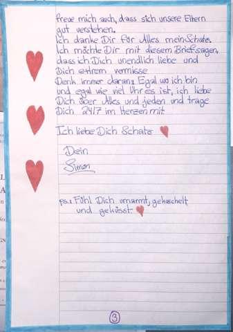 Muster freundin liebesbrief an Schöne Liebesbriefe
