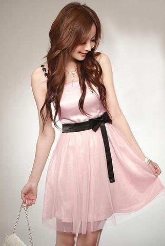 Rosa Kleid :) - (Kleid, Rosa)