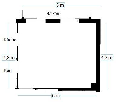 Fesselnd Grundriss, Den Ihr Runterladet Und Mit Paint Einrichten Könnt..   (Wohnung,