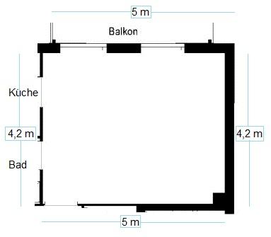 an kreative leute mein grundriss zimmer einrichten und anordnen wohnung ideen 1 zimmer wohnung. Black Bedroom Furniture Sets. Home Design Ideas
