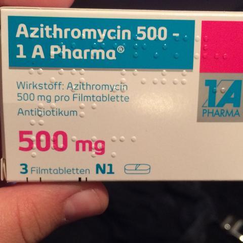 Die Tabletten die ich zuletzt noch genommen habe  - (Schmerzen, Blasen)