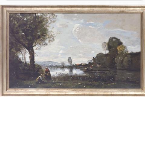 Analyse einer Landschaft in Kunst? (Schule, Bilder, Farbe)