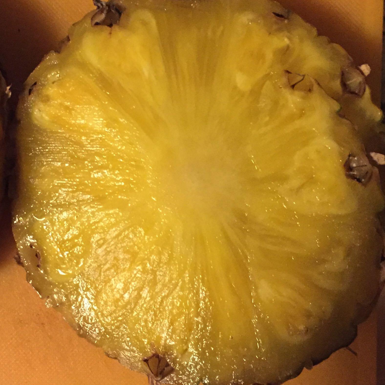 Ananas Schimmel Außen