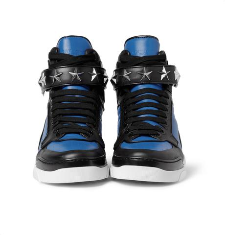 Givenchy Tyson High-Top Leather Sneakers with Stars - (Mode, Schuhe, Model)