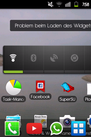 Mein Homescreen :'( - (Android, Root)