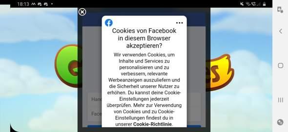 Android Facebook Login funktioniert nicht?