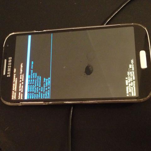......... - (Samsung, Android, geht-nicht-an)