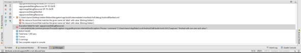 Fehlermeldung Logcat - (App, programmieren, Fehlermeldung)