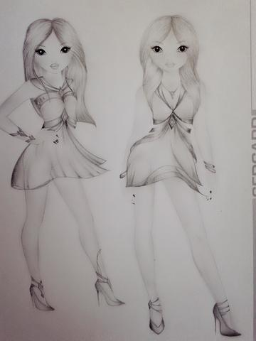 Anfänger Im Zeichnen Oder Talent Hobby Zeichnung Begabung