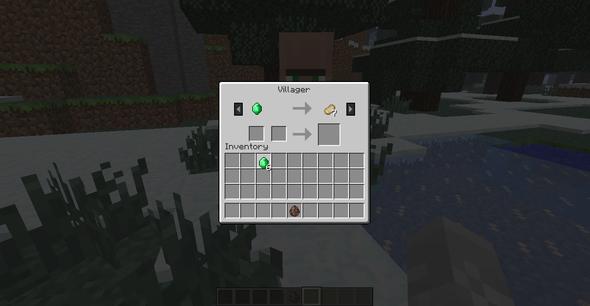 Villager-Handel - (Computer, Minecraft, Computerspiele)