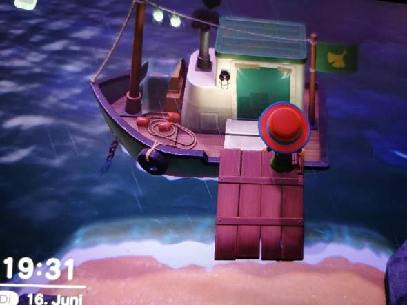 Animal crossing, misteriöses Schiff?