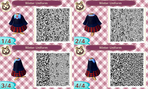 Animal Crossing New Leaf Qr Codes Als Kleidung Tragen Animal