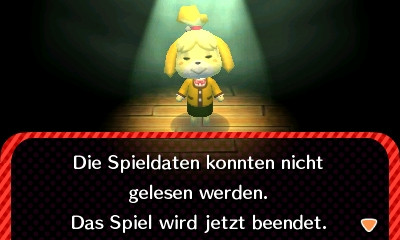 Der Fehler!! - (Animal-Crossing, Nintendo-3DS)
